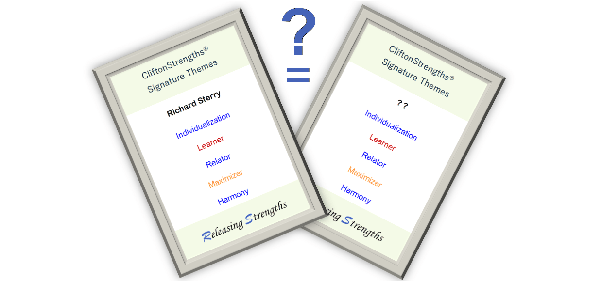 Strengths twin strengthsfinder search find match unique